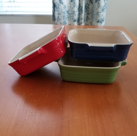 Le Creuset Other - Le Creuset small baking dishes